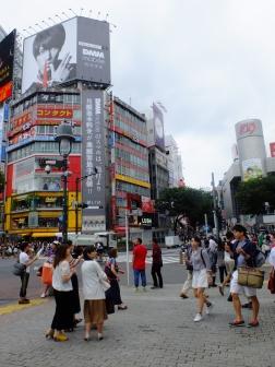 The scramble, Shibuya
