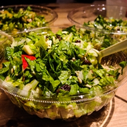 The best take away salad.