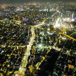 Tokyo from the Skytree.