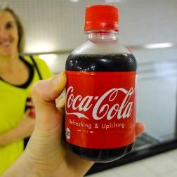 Tiny coke.