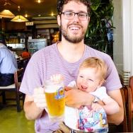 More beer sampling (not for the toddler)