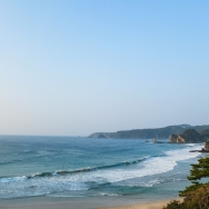 The view from our hotel in Shimoda