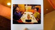 Obligatory dinner picture at Hotel and Spa Anda Resort - Izukogen