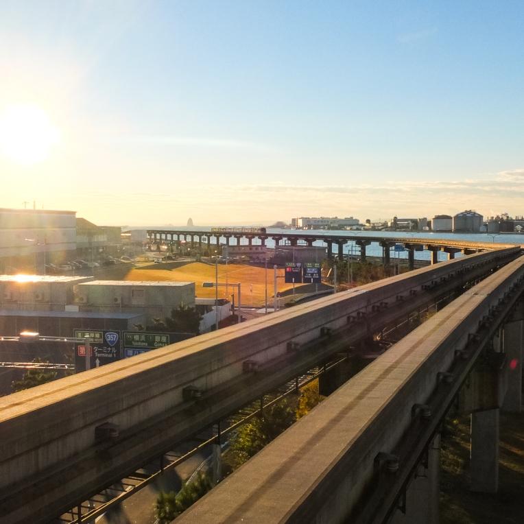 An early sun rise back in Japan.