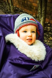 All rugged up against the cold!