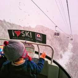 In the gondola